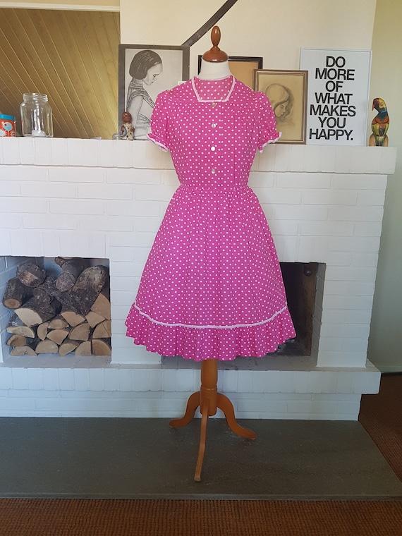 Summer dress / day dress / polka dot dress from th