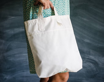 In the store / WORKING HOUSEHOLD BAG / Shopping bag / Bag for the market / Recycle bag / Grocery bag / Bag for diapers / Folding-small