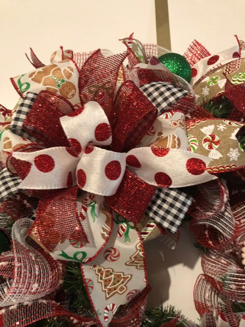 Gingerbread Wreath,gingerbread Christmas Wreath gingerbread Cookies,Christmas Products Line,wreathsbycarol2016