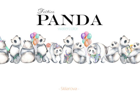 Cute Little Panda Animal Birthday Wishes Celebration Elements, Animal,  Birthday, Blessing PNG Transparent Clipart Image and PSD File for Free  Download