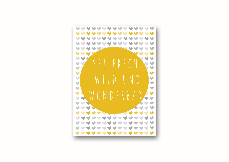 Poster A3/A4 Bild Für Kinderzimmer Mädchen, Deko, Tier-Print, Wanddeko Kinderzimmer, Mädchenzimmer Dekoration, Poster Kinder