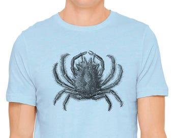 93f5e8ab45943 Austin Ink Apparel Long Arm Crab Print Unisex Yellow Toddler   Etsy