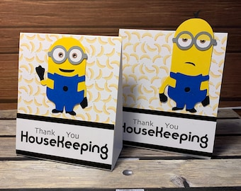 One Harry Potter Themed Housekeeping tip holder card for Universal Resort Stay