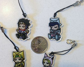 Night-Stands: JJBA-inspired charms
