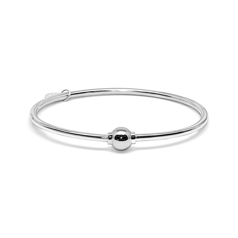 Made on Cape Cod. Bracelet made in Sterling Silver with a image 1
