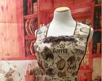 Coffee Woman's Apron #1