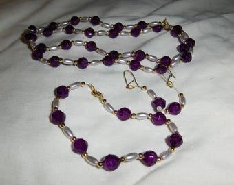 Purple Rice 3 piece set