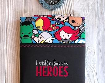 HEROES book sleeve