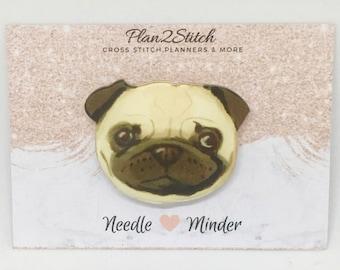 Pedro the Pug  Needle Minder