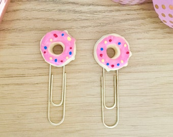 Donut Paperclips/Planner/Diary Accessories