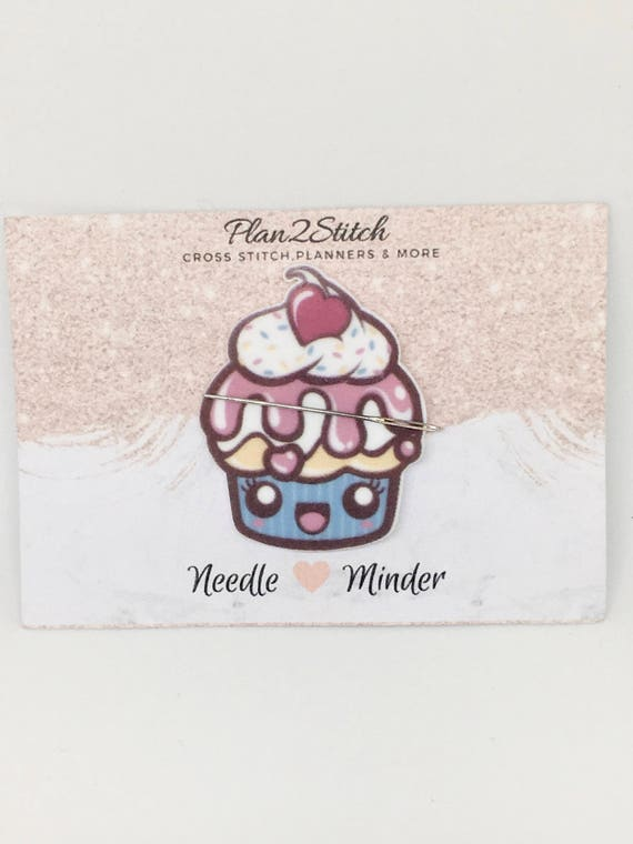 Cute Twister Ice Lolly Needleminder for Cross Stitch//Embroidery