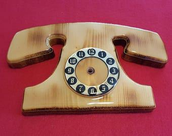 Rotary Phone Clock