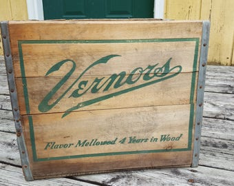Large Vernors Crates