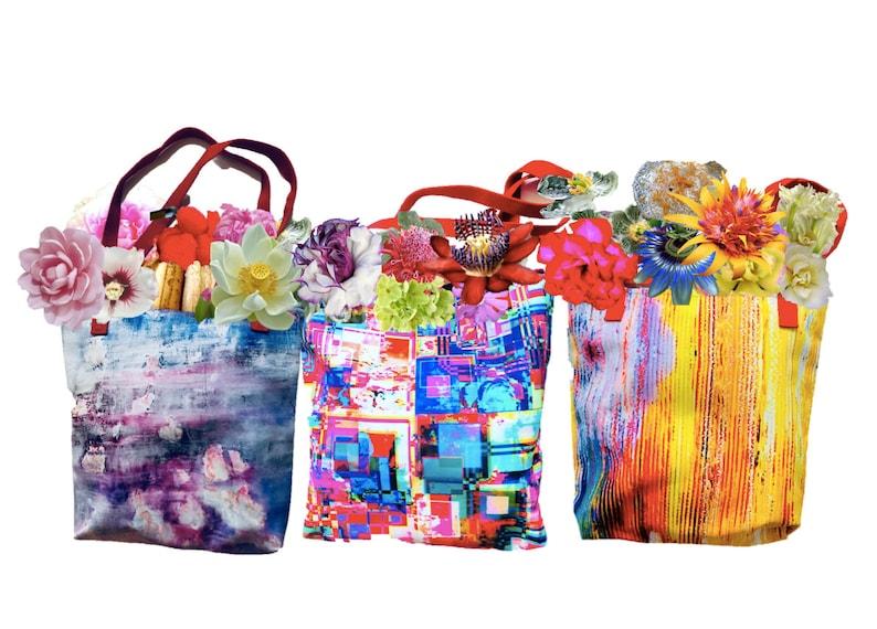 Back to School Gift for mom daughter niece girlfriend Original art design Pixels Tote Bag Versatile tote for beach yoga errands