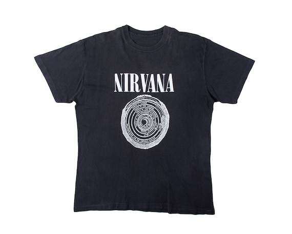 Vintage 1992 Nirvana Shirt Rare Vintage Nirvana Ve
