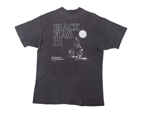 Vintage Black Flag Shirt Rare Vintage Black Flag S