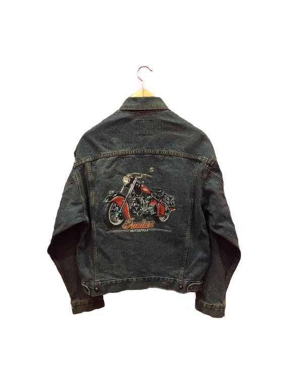 Vintage Indian Motorcycle Jacket Vintage Indian Mo
