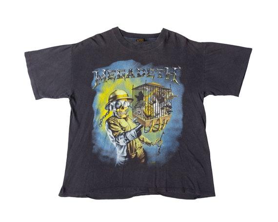 Vintage Megadeth ZooKeeper Shirt Vintage Megadeth