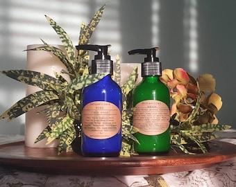 MOTHER DAUGHTER WASH Set • Organic Face Wash Set • Acne Oily Prone Neem Wash • Pure Castile Wash • Sensitive Skin Cleanser • Healing Skin