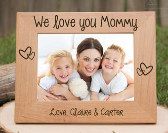 Mom Gift from Daughter, Mothers Day Gift from Daughter, Gifts from Kids, Personalized Picture Frame, Mom Gifts, Gift Ideas for Mom