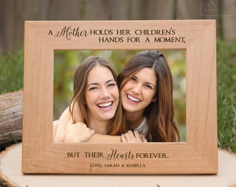 Mom Gift from Daughter, Mother Gift from Daughter, Mother Engraved Gifts, Mothers Day Gift, Engraved Gifts for Her, Mom Gifts, Picture Frame