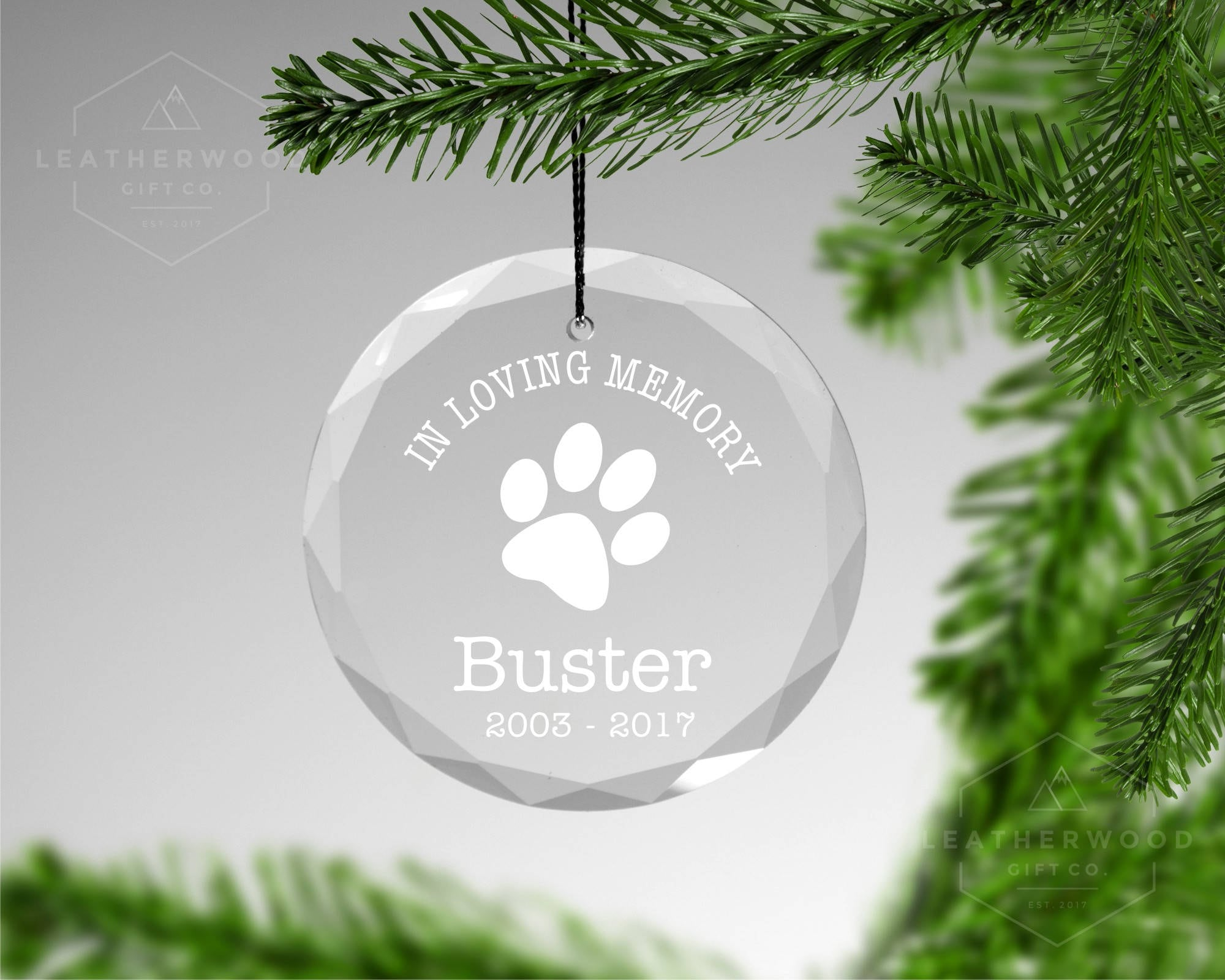 Pet Memorial Christmas Ornament Pet Loss Christmas | Etsy