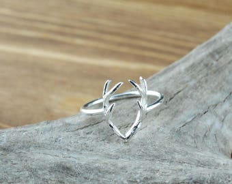 Connected Antler Ring