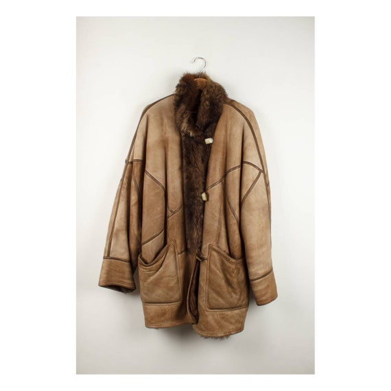 Authenthic Vintage Shearling/Sheepskin 90's
