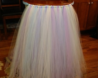 High Chair Tutu Skirt