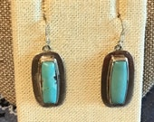 Southwest still Sterling Silver and turquoise earrings
