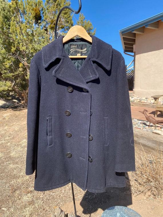 Vintage Navy Pea Coat