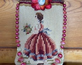 Victorian Style Tapestry Purse