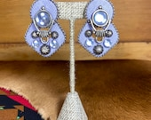 Stunning Clip On Earrings