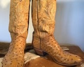 Classic Ostrich Cowboy Boot by Gary Tucker