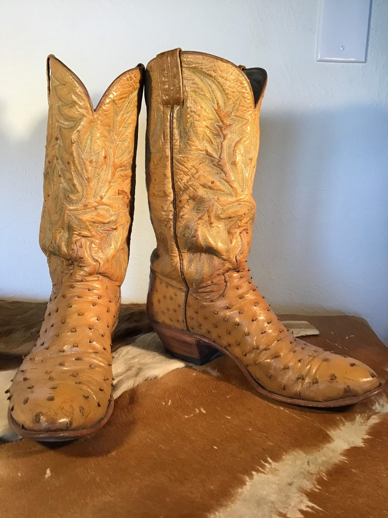 Classic Ostrich Cowboy Boot by Gary Tucker image 1