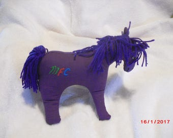 Cuddly, Purple Pony