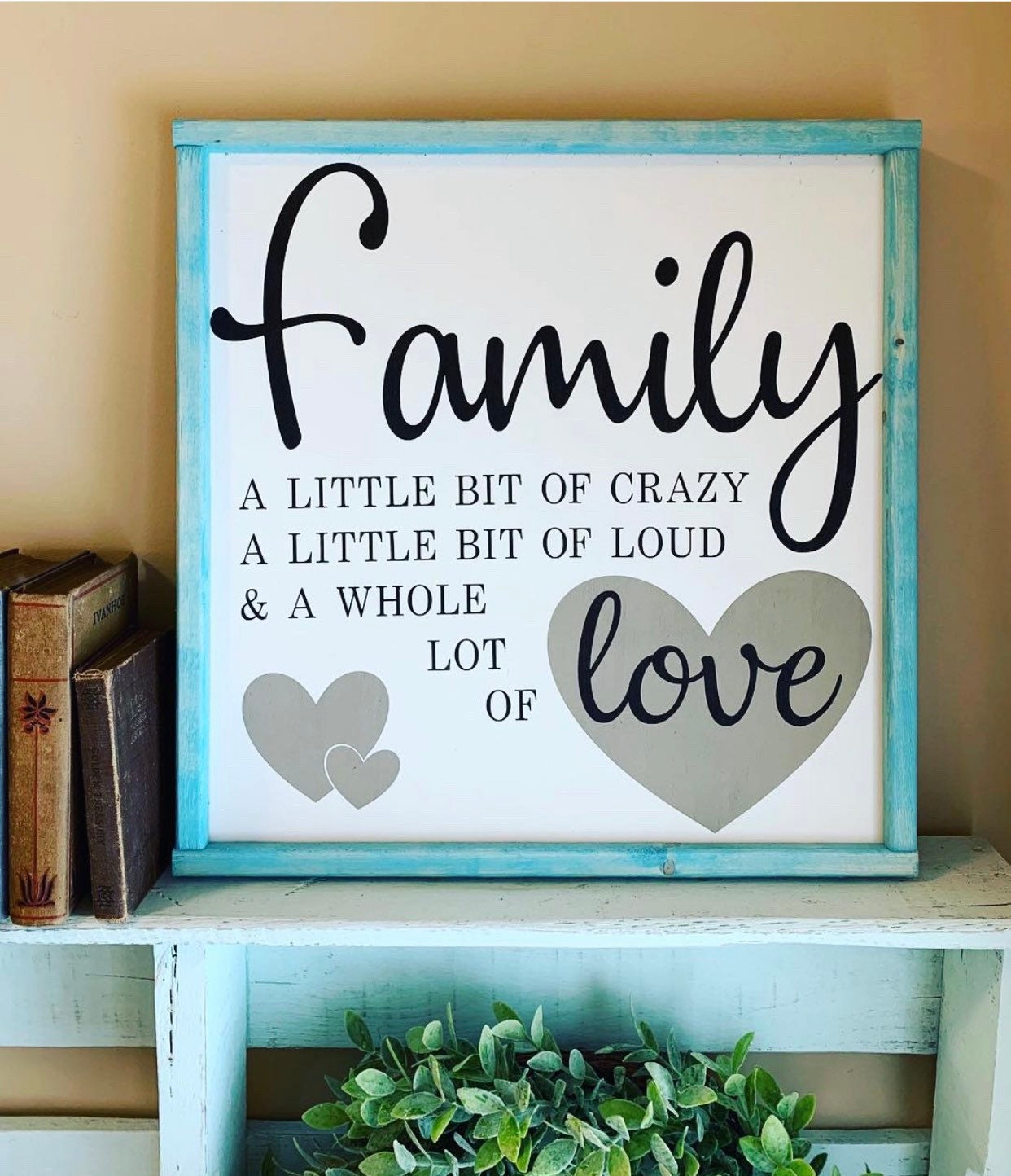 sign with quotes  signs  signs for home  farmhouse decor