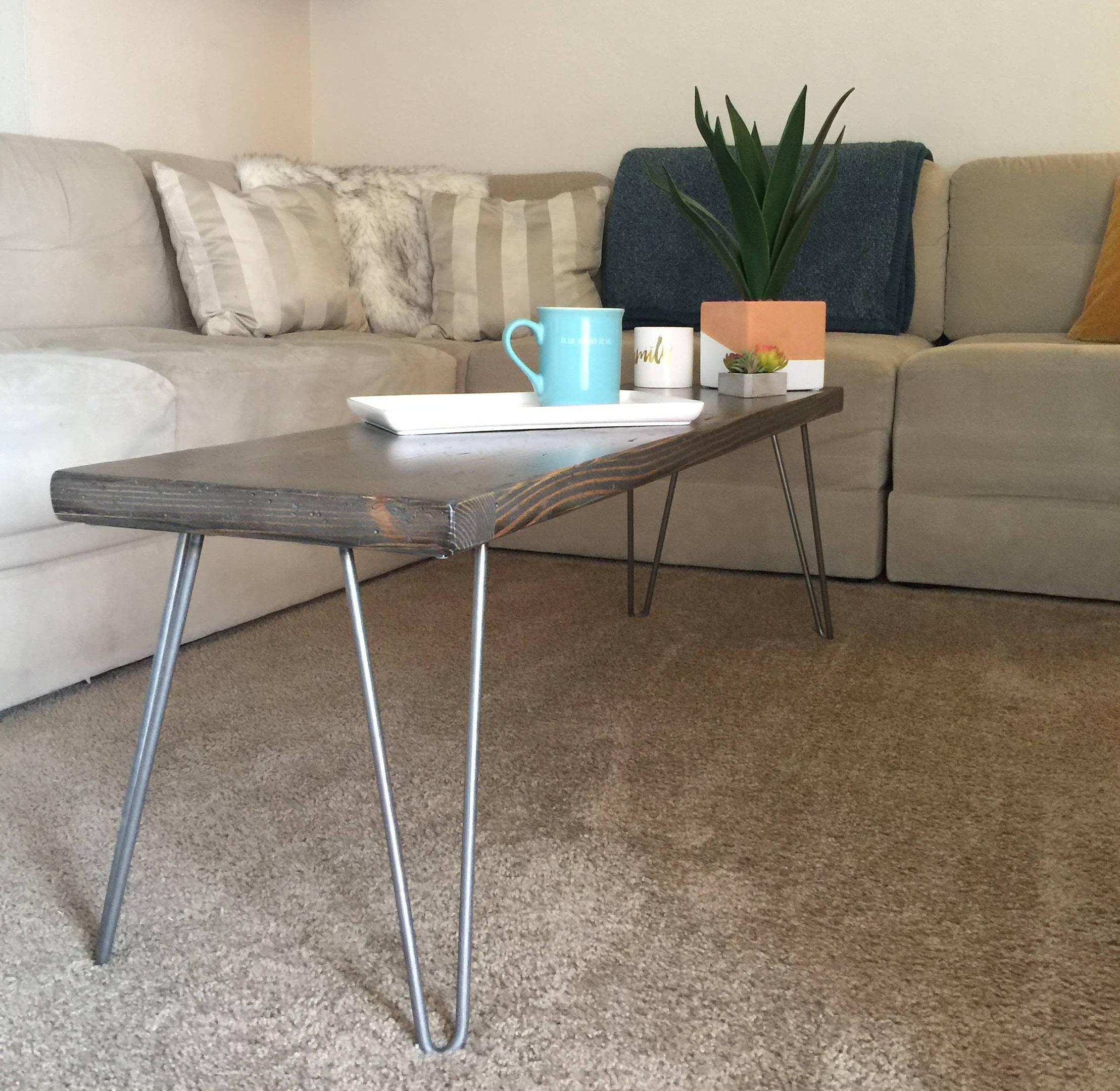 Hairpin Leg Coffee Table Coffee Table Modern Coffee Table