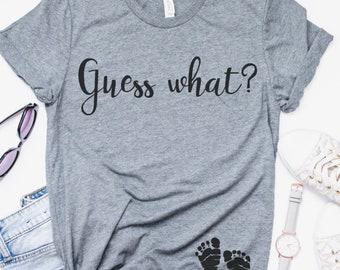 Pregnancy Announcement Shirt, Baby Announcement, Surprise
