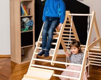 Kletterdreieck Für Kinder : Kinderleben kletterdreieck von klapperspecht nach pikler mit