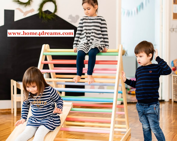 FREE DELIVERY! Climbing triangle 120 cm, Step Triangle, Kletterdreieck, Climbing frame, Klettergerüst, Climbing frame, www.home4dreams.com
