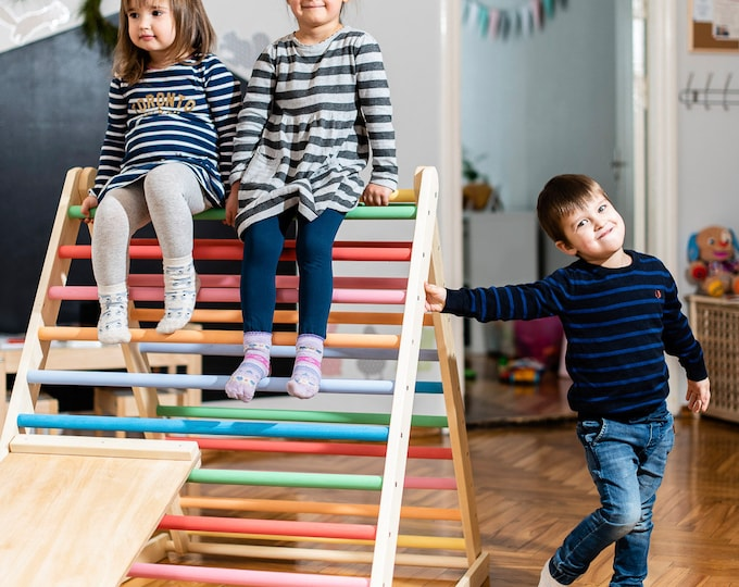 FREE DELIVERY ! Pikler triangle 120 cm, Step Triangle, Climbing triangle for toddlers , Pikler dreieck !