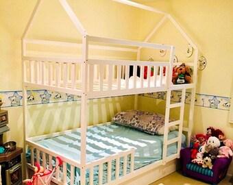 Toddler Bunk Bed Etsy