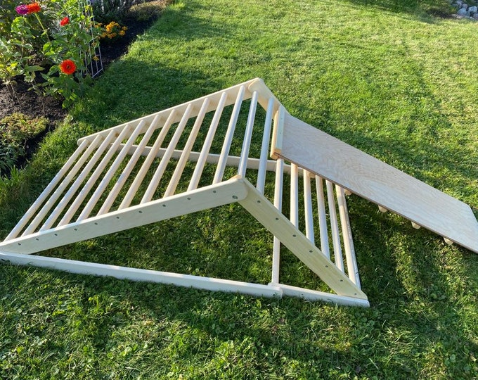 FREE DELIVERY! Pikler triangle 120/80 cm, Step Triangle, Climbing triangle for toddlers , Pikler dreieck, Climbing frame, Klettergerüst