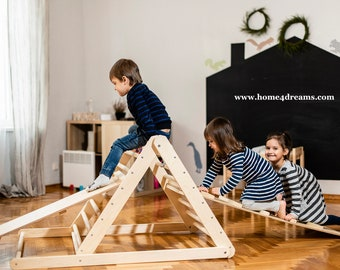 Climbing triangle, Step Triangle, Climbing ladder for toddler, Climbing frame , Kletterdreieck, www.home4dreams.com
