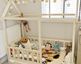 Letto Per Bambini Montessori : Letto montessori etsy