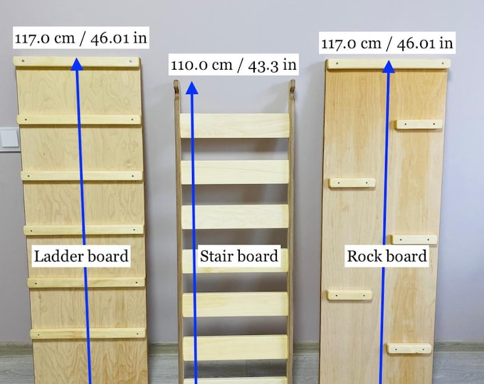 Ladder, Stair, Rock, Rope boards WITHOUT the Triangle
