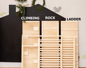 Ladder and Rock boards for Eva in Spain