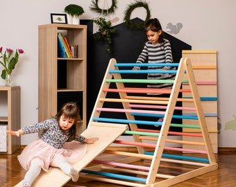 Climbing triangle, Baby climber, Climbing ladder for toddler, Kletterdreieck , Step Triangle, foldable triangle