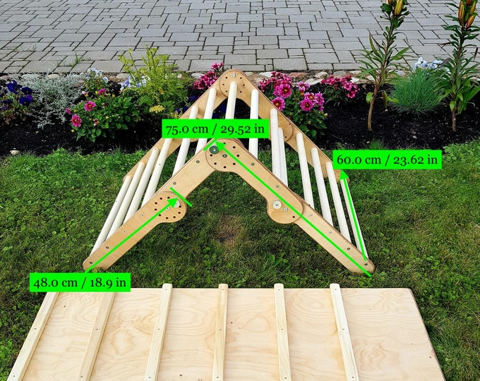 FREE DELIVERY! Climbing triangle, Step Triangle, Climbing triangle for toddlers , Kletterdreieck